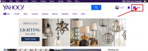 Yahoo-homepage