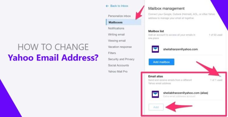 How-To-Change-Yahoo-Email-Address