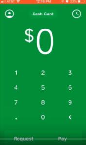 cash app on mobile phone