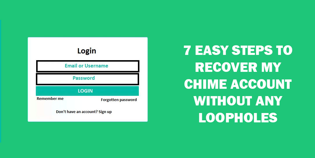 recover my chime account