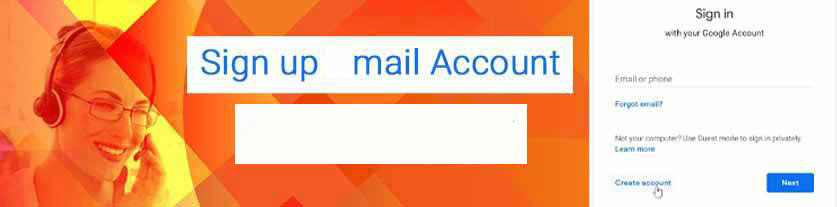 Signup gmail account
